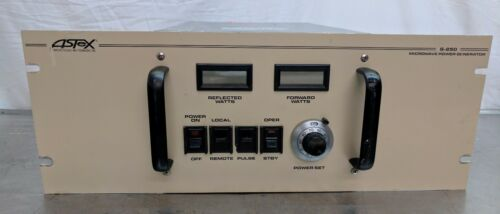 Astex S-250 250w Single Phase 2450 Mhz Microwave Generator Mks Amat Plasma
