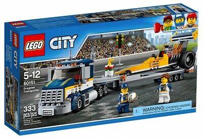 ★ LEGO CITY 60151 / LE TRANSPORTEUR DU DRAGSTER / NEUF ★