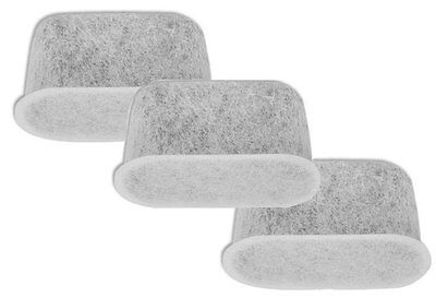3 Replacement Charcoal Water Filters for Cuisinart Coffee Maker Machine