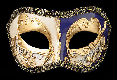 Mask from Venice Colombine Golden Violet-Costume-Party-Bal- 1927 -V82B