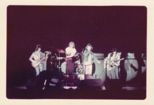 ROLLING STONES Vintage Amateur Concert Photograph Unpublished c.1972 # 1