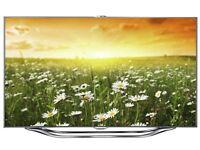 samsung 55 inch 3d tv, model es 8000 ue