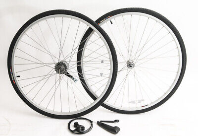 700c 3s coaster brake cruiser bike wheelset