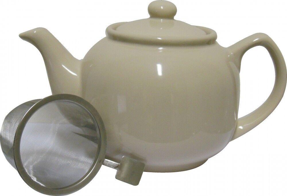 Teekanne SOFT SAND 1,2l Shamila® (Tee Kanne, Keramik)
