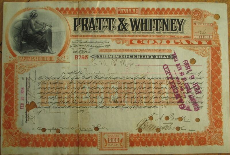 FRANCIS ASHBURY PRATT-Signed
