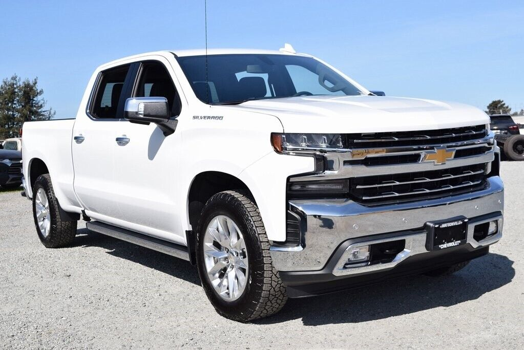 2020 chevrolet silverado 1500, summit white with 1
