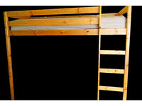 MFI Paco Solid Pine Highsleeper bed - already disassembled with assembly instructions