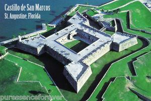 Postcard Castillo De San Marcos St Augustine Florida
