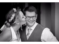Wedding Videography or Photography only £499 - 75% goes to charity! AND free photo studio shoot!