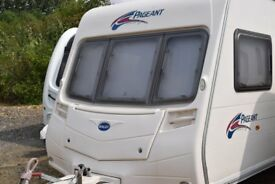 Bailey Pageant Series 6 Bretagne 2007 Caravan