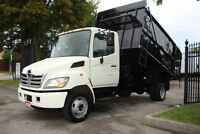 2008 Hino 185 Ideal junk removal truck,contractor Dump truck.