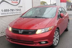 2012 Honda Civic Si/JAMAIS ACCIDENTÉ/