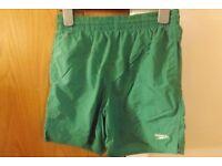 Boys Speedo Swim Shorts Size M