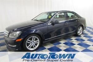 2013 Mercedes-Benz C-Class 300 4MATIC AWD/ACCIDENT FREE!