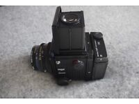 Mamiya RZ67 Pro ii D with 110 f2.8w lens, 120 Film Back. Great condition Pro IID