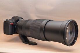 Nikon 200-500mm f/5.6E VR + D7000 DSLR Camera