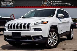 2016 Jeep Cherokee Limited|4x4|Navi|Backup Cam|Bluetooth|Leather