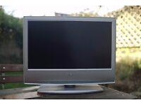 "Sony Bravia 20"" HD TV - Great condition, Silver"