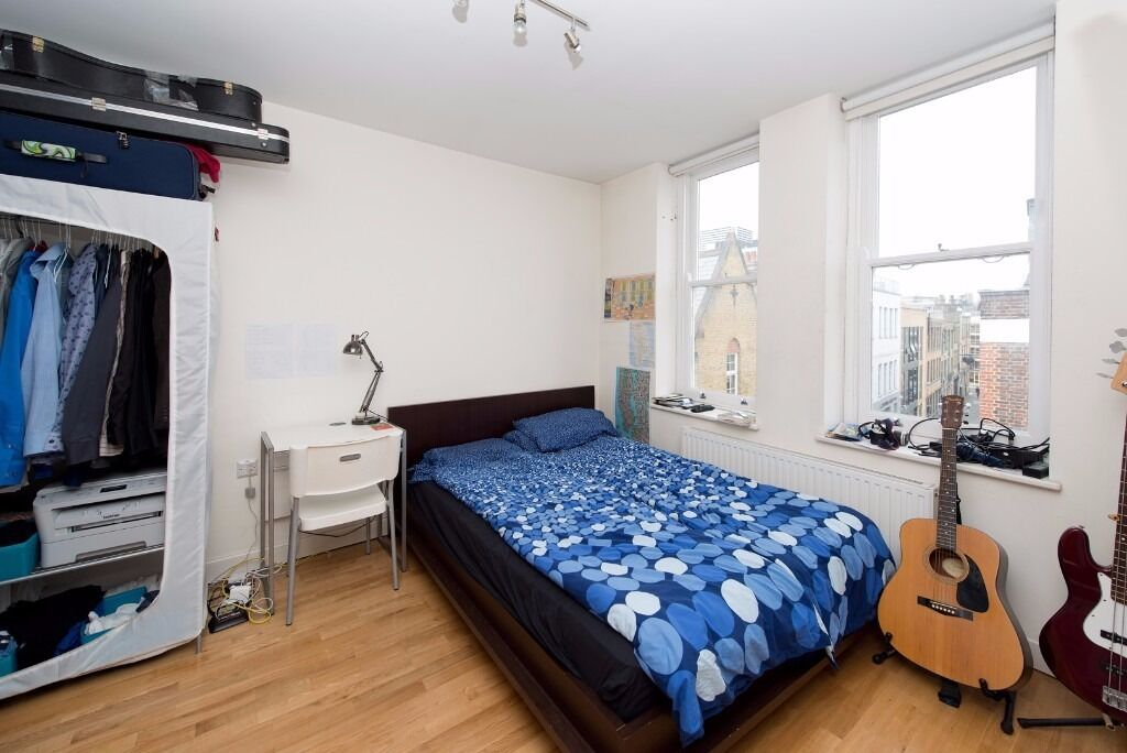 GREENLAND STREET, NW1: VERY LIGHT AND SPACIOUS 1 DOUBLE BEDROOM, SEPARATE KITCHEN, EASY WALK TO TUBE