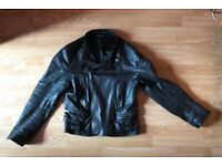 Gucci Leather Jacket / Size 50