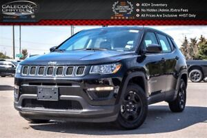 2017 Jeep Compass Sport Only 51 KMBackup Cam Bluetooth Pwr windo