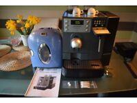 CAFE SWISS cS100 COMMERCIAL Bean to cup COFFEE MACHINE + Milk Fridge