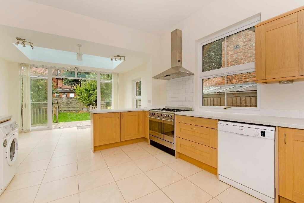 A bright and spacious modern six bedroom, three bathroom, two reception period house