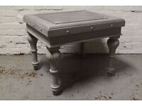 Shabby chic side table (DELIVERY AVAILABLE)