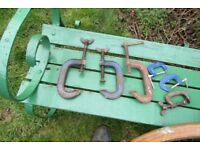 BARN FIND RECORD AND OTHER MAKES OF G CLAMPS CRAMPS £50 WELLINGBOROUGH COLLECT