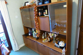 Pair of sideboard/drink/trophy cabinets