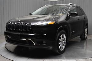2015 Jeep Cherokee LIMITED AWD V6 TOIT PANO CUIR NAVI