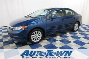 2012 Honda Civic EX GREAT PRICE!!/ ALLOY/ PWR SUN ROOF