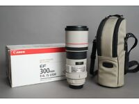 Canon 300mm f4 L IS - Excellent Condition