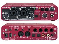 Edirol FA-66 audio interface and midi interface