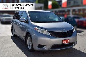 2014 Toyota Sienna 7 PASS, 1 OWNER, NO ACCIDENT