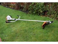 stihl fs 55 petrol brush cutter trimmer 2 stroke petrol