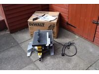 dewalt chopsaw DW 711 2 IN 1 SAW