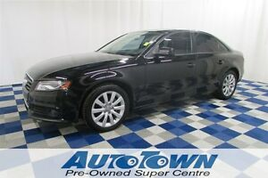2012 Audi A4 2.0T QUATTRO AWD/SUNROOF/ALLOY WHEELS/LEATHER INTE
