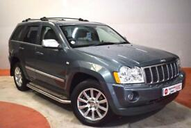 JEEP GRAND CHEROKEE 3.0 V6 CRD OVERLAND 5d 215 BHP (silver) 2007