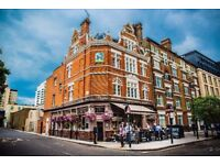 Full Time Bar Staff/Waitron for busy independent South East London Gastro Pub