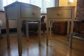 Laura Ashley Pair Of Broughton Side Tables Bedside