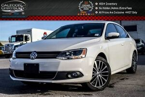 2014 Volkswagen Jetta Highline|Sunroof|Bluetooth|Leather|Heated