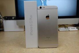 I phone 6s plus 64 gb in Apple warranty unlock silver