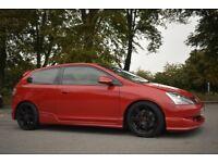 2005 (05) Honda Civic 2.0 Type R Facelift Red, Original Example, 12 Months MOT