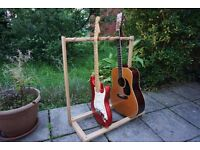 Guitar Stand - wooden, holds around 5 guitars