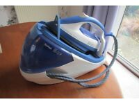 TEFAL PRO EXPRESS TOTAL STEAM GENERATOR IRON GV 8930 - BLUE EXCELLENT SELLING DUE TO DOWNSIZING
