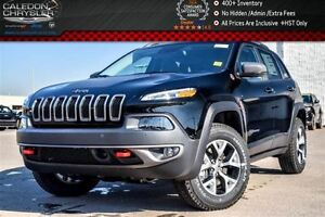 2017 Jeep Cherokee New Car Trailhawk Leather Plus|4x4|Pano sunro