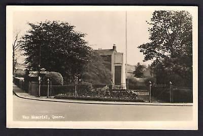 Quorn / Quorndon near Loughborough. War Memorial.