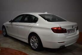 BMW 5 SERIES 520D SE Auto 4 Door Saloon (white) 2013