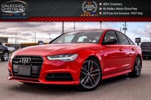 2017 Audi A6 3.0T Competition|Quattro|Navi|Sunroof|Backup Cam|B